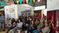 Charla sobre Alimentación Consciente y Soberanía Alimentaria en el Mercado Solidario Bonpland. 2017. CABA